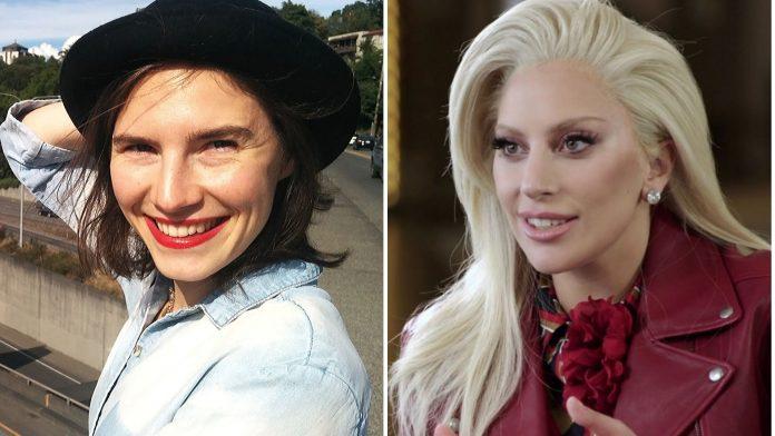 Amanda Knox e Lady Gaga