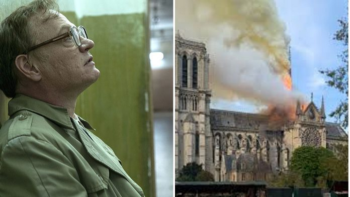 Notre-Dame in fiamme