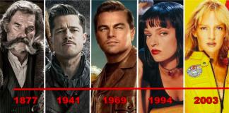 Tarantino timeline Tarantinoverse