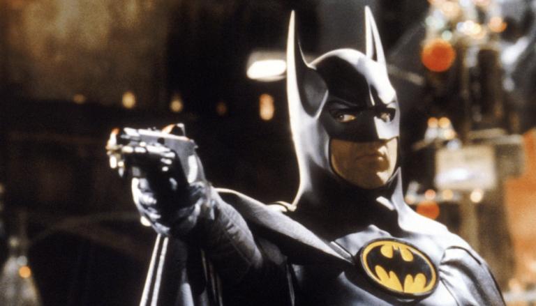 Bruce Wayne/Batman di Michael Keaton