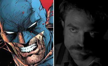 Batman e Robert Pattinson
