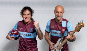 Steve Harris Iron Maiden West Ham