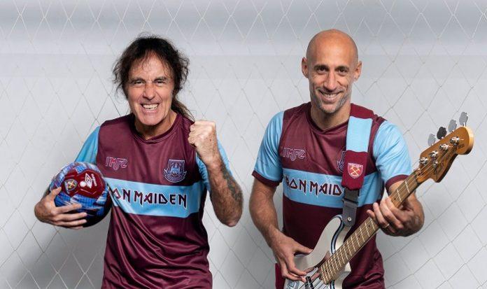 Steve Harris Iron Maiden West Ham