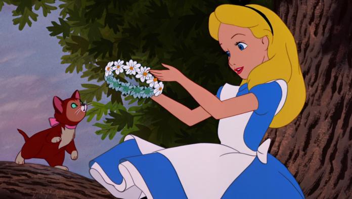 Alice nel paese delle meraviglie, salvador dalì