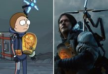 Death Stranding - Rick and Morty nella parodia