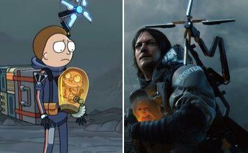 Death Stranding - Rick and Morty nella parodia
