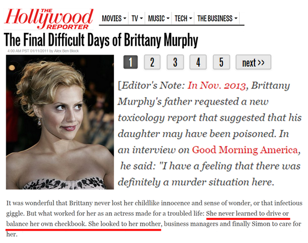 Brittany Murphy misteriosa morte
