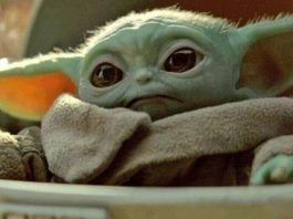 Baby Yoda merchandise da The Mandalorian