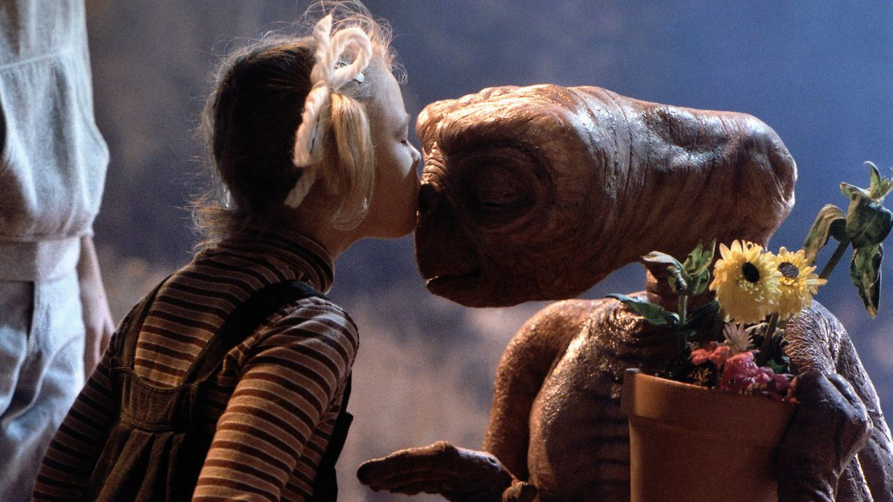 E.T. L'extraterrestre via da Netflix