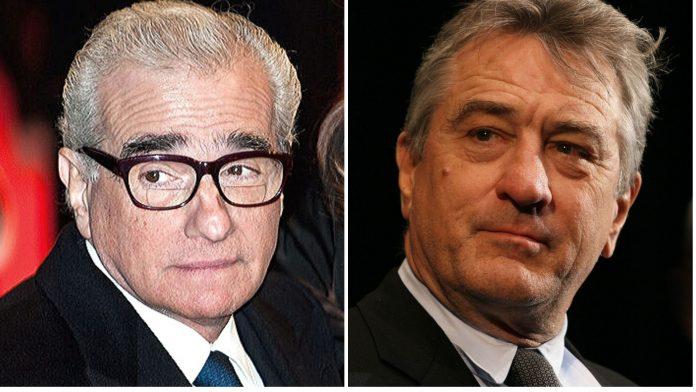 Martin Scorsese e Robert De Niro
