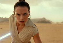 Daisy Ridley in Star Wars: L'Ascesa di Skywalker