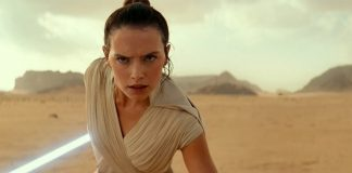 Daisy Ridley in Star Wars: L'Ascesa di Skywalker