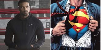 Superman e Michael B. Jordan
