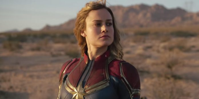 Brie Larson, Captain Marvel, Jimmy Kimmel