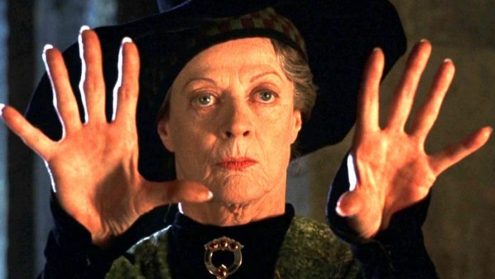 Maggie Smith, Harry Potter, Minerva McGranit
