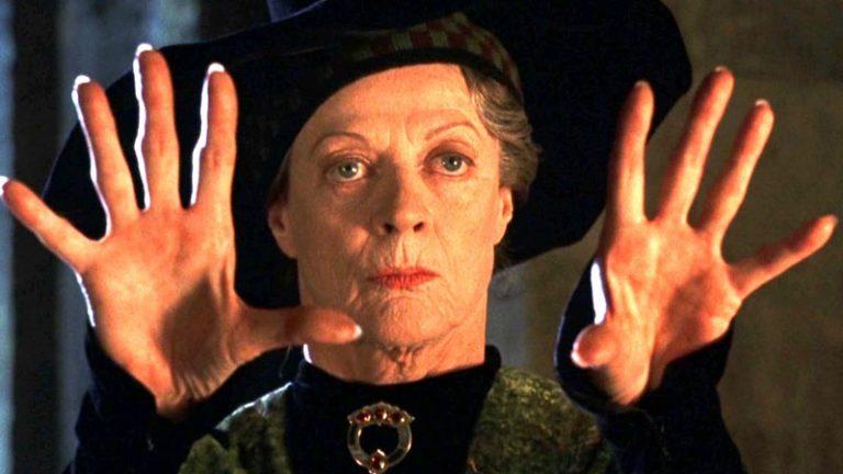Maggie Smith, Harry Potter, Minerva McGranit