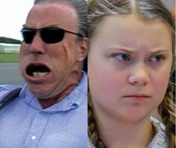Jeremy Clarkson Greta Thunberg