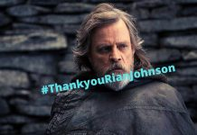 ThankyouRianJohnson - Luke Skywalker
