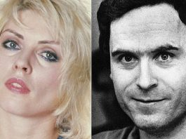 ted bundy debbie harry blondie
