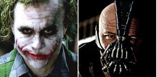 Joker e Bane il cavaliere oscuro