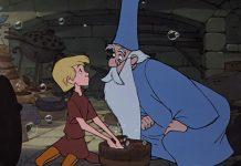 Mago Merlino e Artù, la spada nella roccia, disney plus, disney+