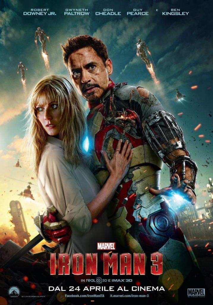 "Poster del Film ""Iron Man 3"""