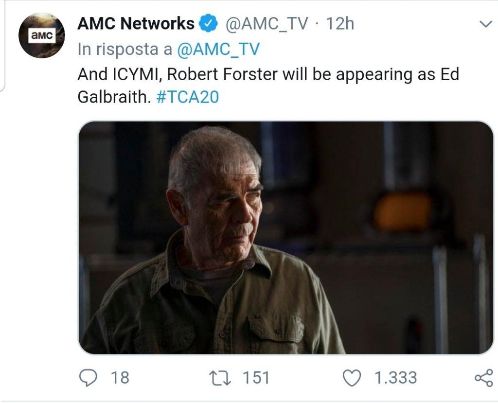 Better Call Saul, Robert Forster