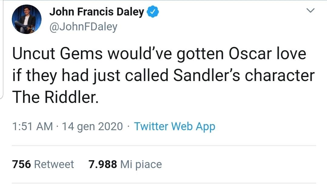 Joker, Oscar 2020