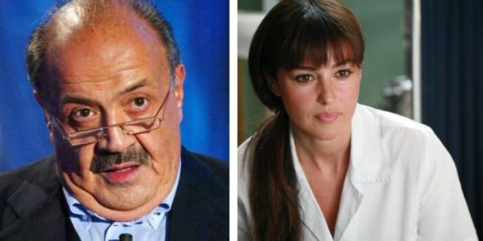 Maurizio Costanzo, Monica Bellucci, Sanremo