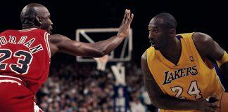 Micheal Jordan, Kobe Bryant