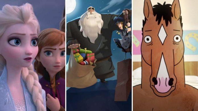 Frozen, Klaus, Bojack Horseman