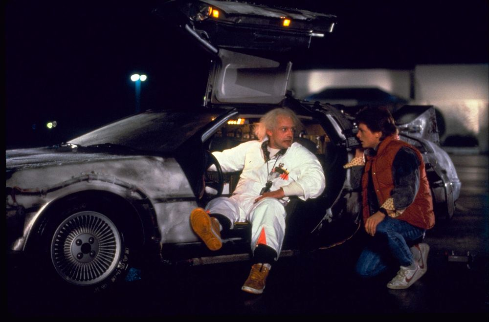 Ritorno al futuro, DeLorean