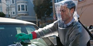 Jude Law in Contagion Coronavirus