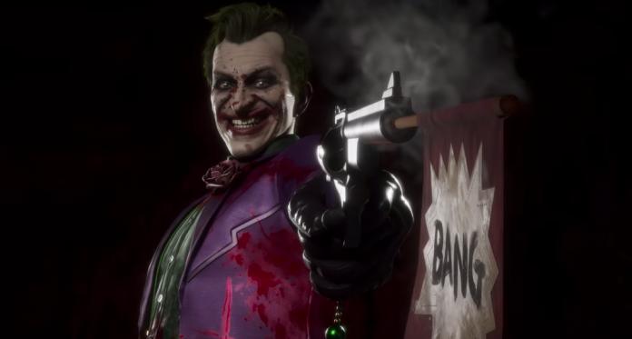 Joker nel videogioco Mortal Kombat 11