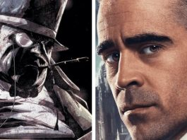 Il Pinguino Colin Farrell in The Batman