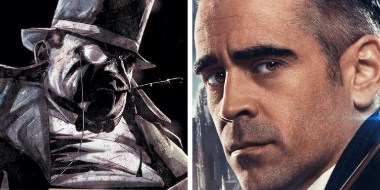 Il Pinguino Colin Farrell in The Batman