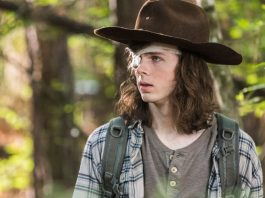 Carl in The Walking Dead