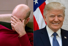 trump, logo star trek
