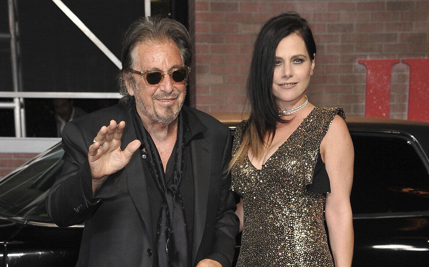 """Al Pacino risponde all'ex compagna: """"L'età è solo un numero"""""""