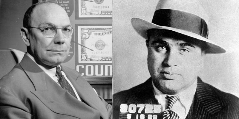 Gli Intoccabili, Frank Wilson, AL Capone