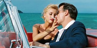Johnny Depp e Amber Heard in una scena di The Rum Diary