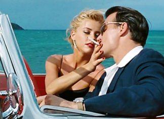 Johnny Depp e Amber Heard in una scena di The Rum Diary