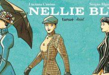 Nellie Bly: particolare della copertina