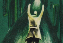 la copertina verde del libro Nightmare Alley