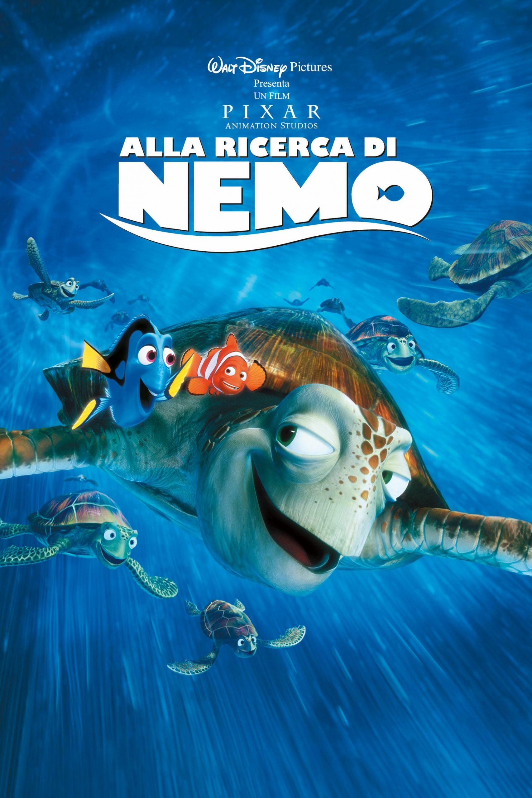 """Poster del Film """"Alla ricerca di Nemo"""""""