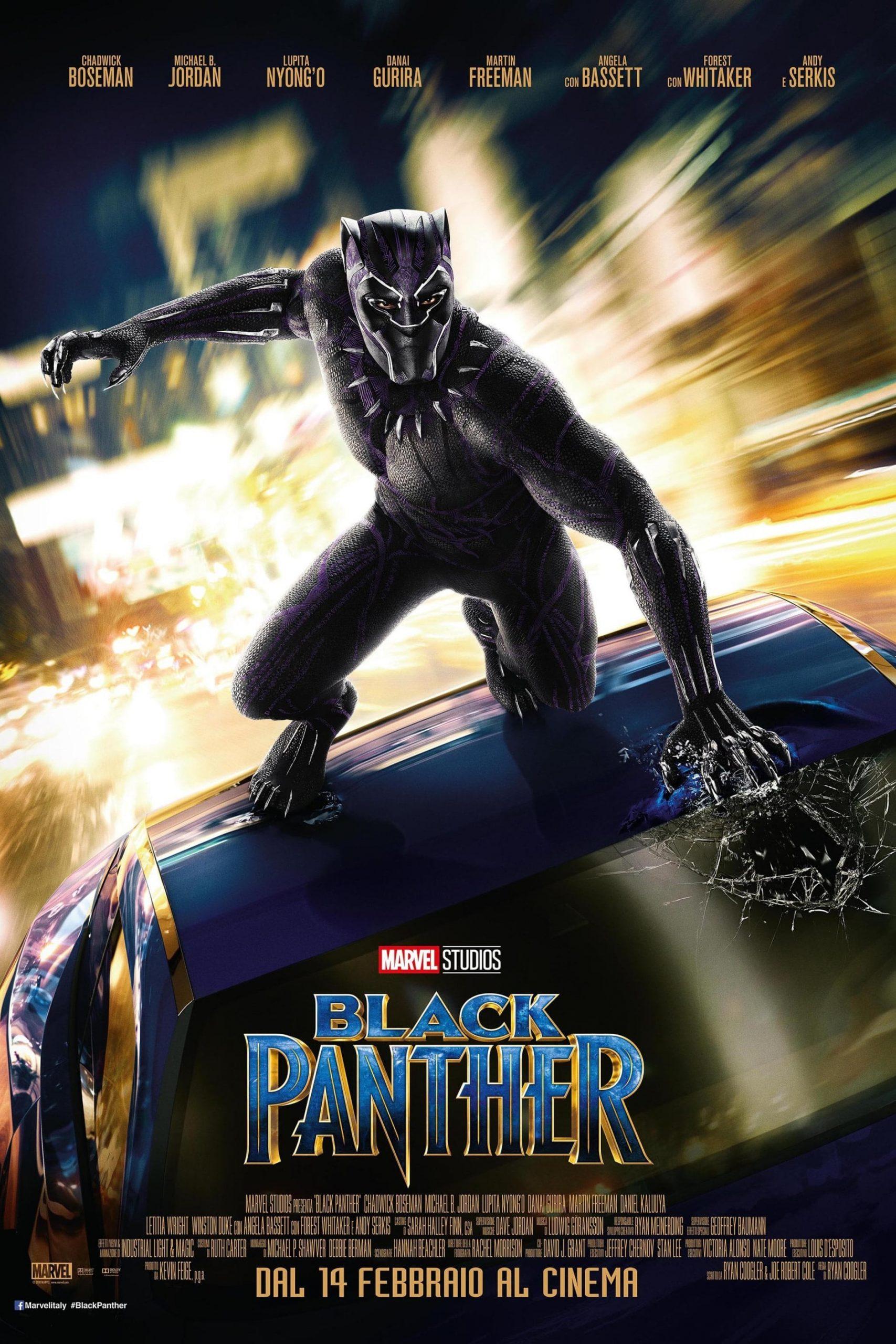 "Poster del Film ""Black Panther"""