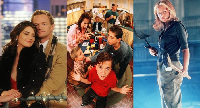 Disney Plus, How i met your mother, modern family, malcolm, buffy