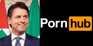 Giuseppe Conte, Coronavirus, Pornhub