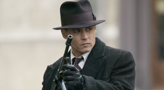 Johnny Depp, Nemico Pubblico