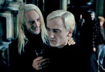 Malfoy, harry potter, jason isaacs, tom felton